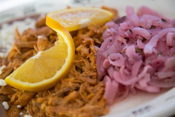 Restaurante Los Panchos cochinita pibil