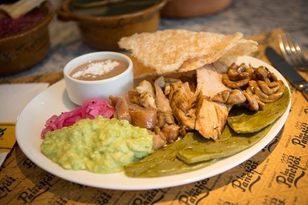 Restaurante Los Panchos plato ranchero