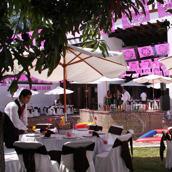 Restaurante Los Panchos servicio de banquetes a domicilio