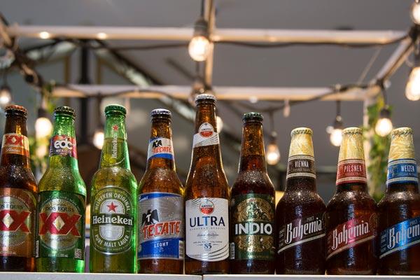Restaurante Los Panchos bebidas