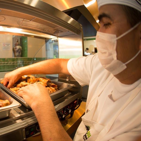 Restaurante Los Panchos nuestros cocineros