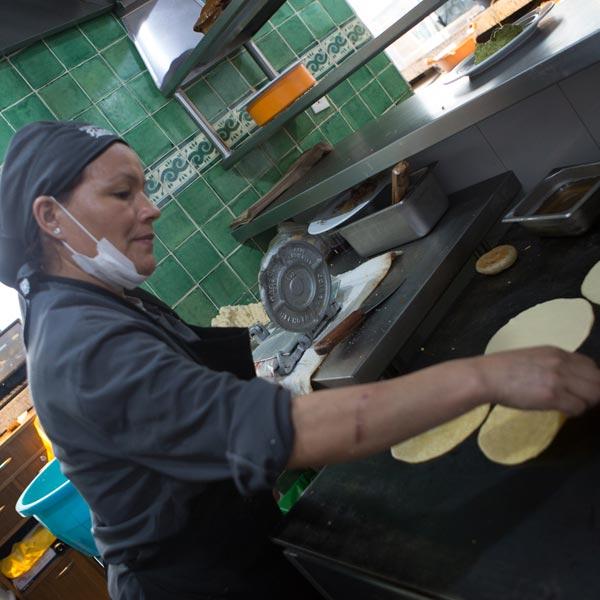 Restaurante Los Panchos nuestras tortilleras