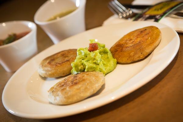 Restaurante Los Panchos orden de gorditas