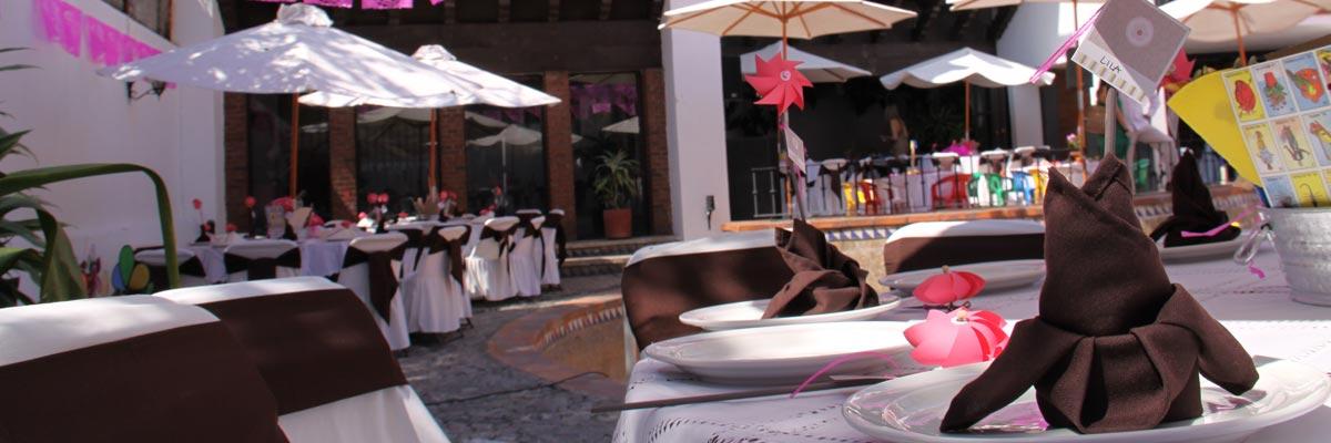 Restaurante Los Panchos servicio de banquetes