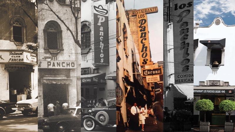 Restaurante Los Panchos la historia de nuestra fachada