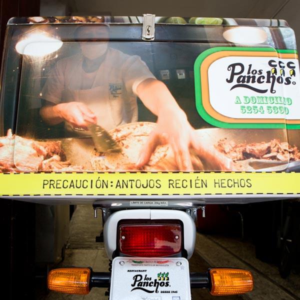 Restaurante Los Panchos a domicilio antojos recien hechos