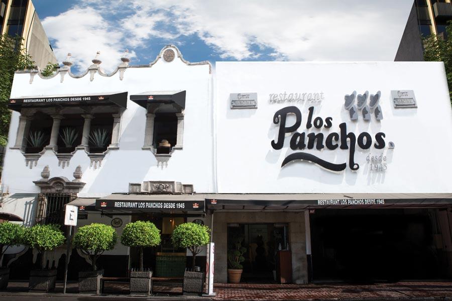Restaurant Los Panchos México sucursal matriz anzures fachada