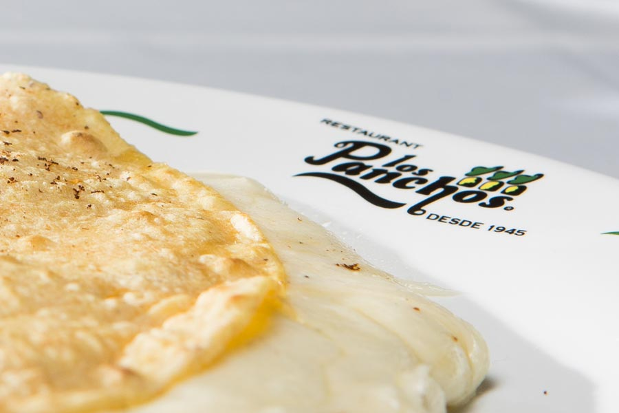 Restaurant Los Panchos México sucursal matriz anzures quesadilla