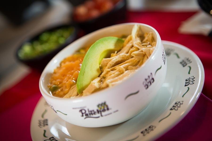 Restaurant Los Panchos México sucursal matriz anzures consome