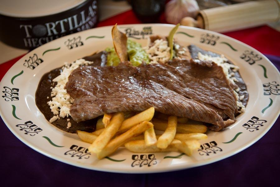 Restaurant Los Panchos México sucursal matriz anzures cecina de yecapixtla