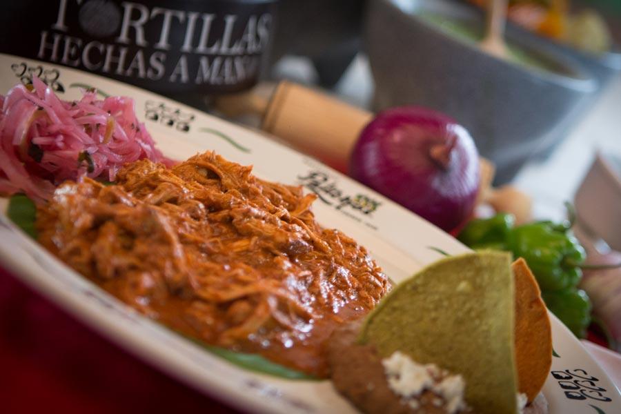 Restaurant Los Panchos México sucursal matriz anzures cochinita pibil