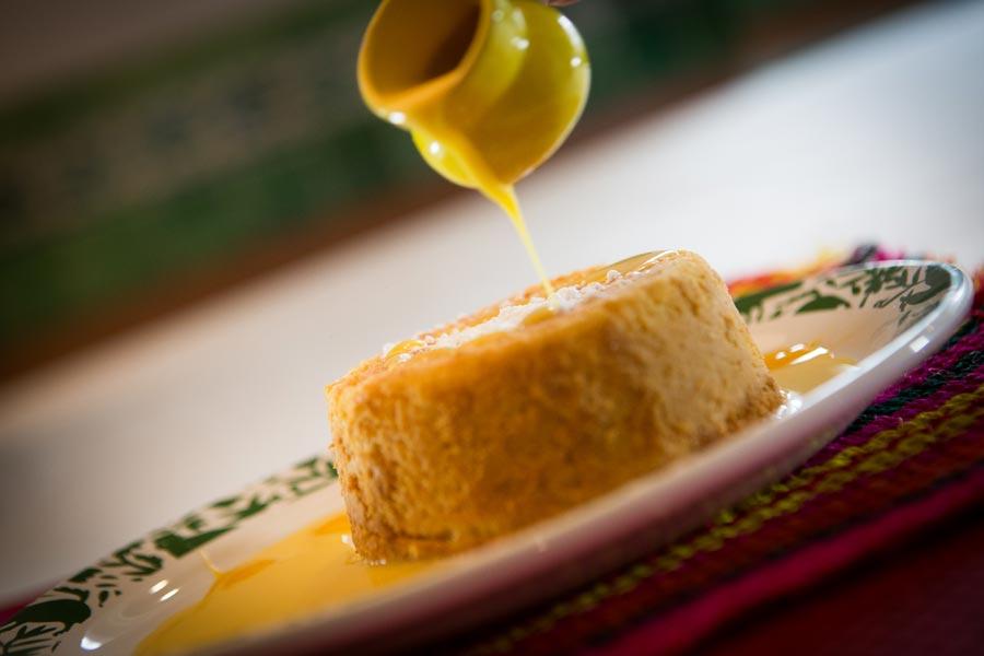 Restaurant Los Panchos México sucursal matriz anzures flan de la casa