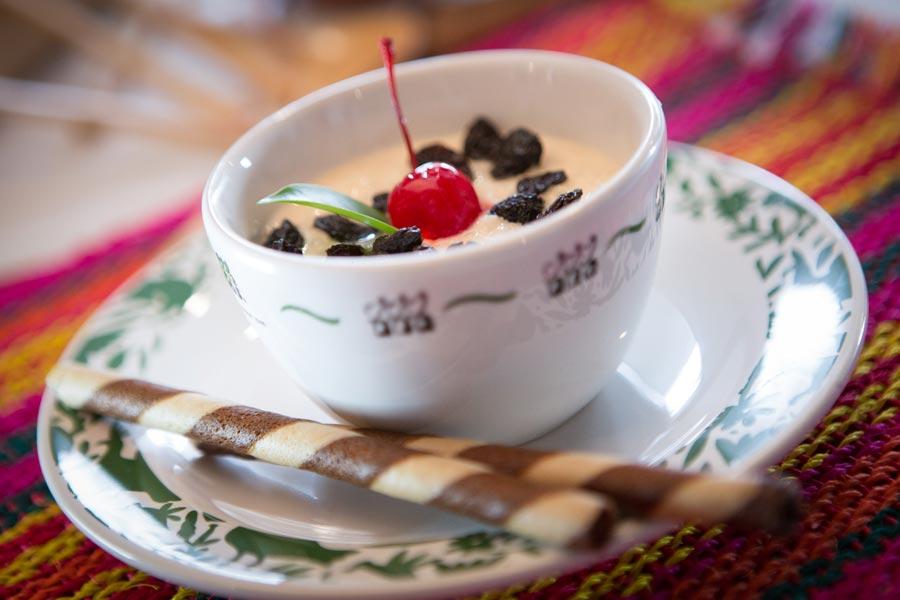 Restaurant Los Panchos México sucursal matriz anzures arroz con leche