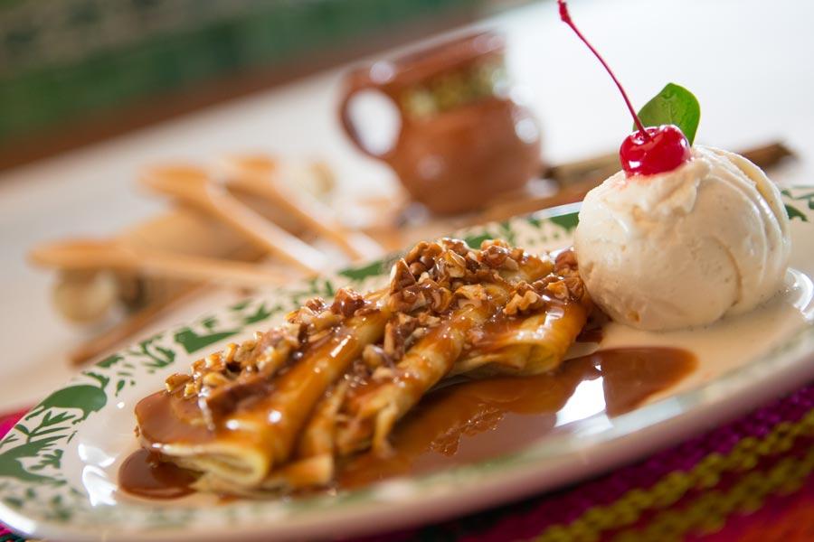 Restaurant Los Panchos México sucursal matriz anzures crepas y helado