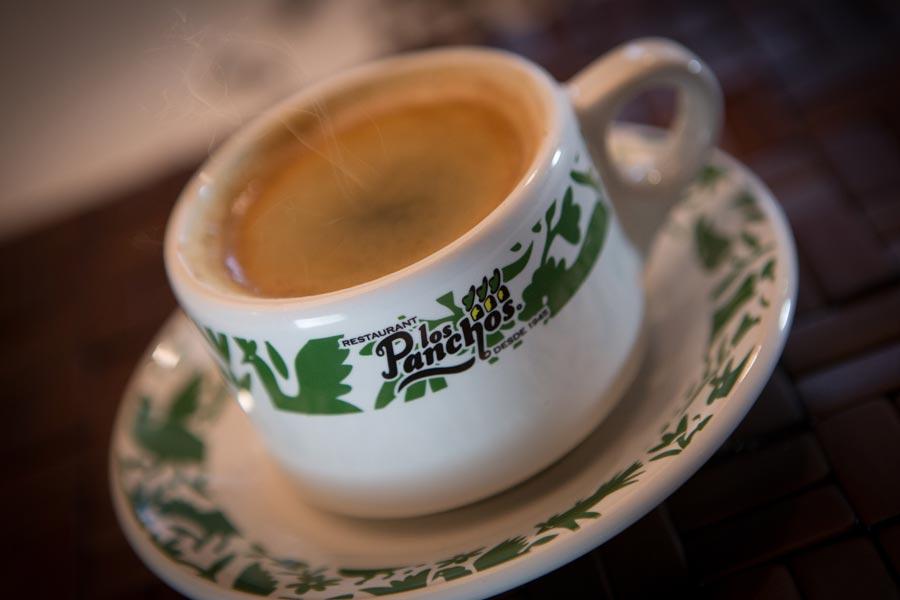 Restaurant Los Panchos México sucursal matriz anzures cafe