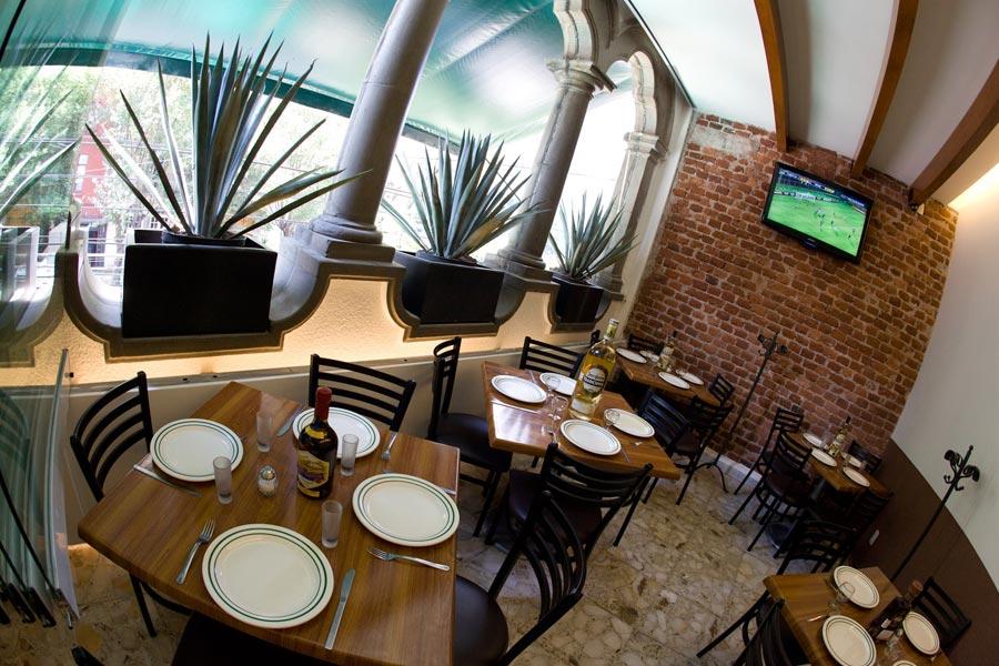 Restaurant Los Panchos México sucursal matriz anzures comedor