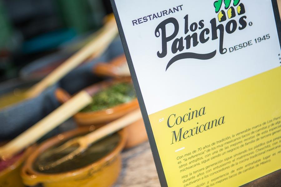 Restaurant Los Panchos México sucursal perisur menu