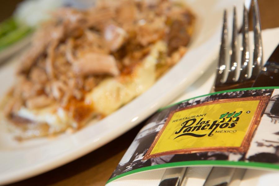 Restaurant Los Panchos México sucursal polanco cubierto