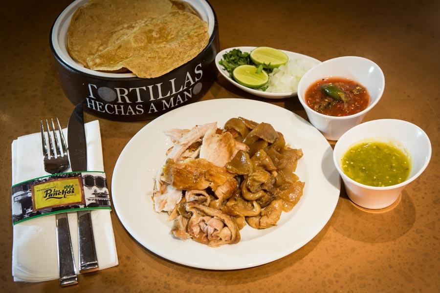 Restaurant Los Panchos México sucursal polanco orden de carnitas