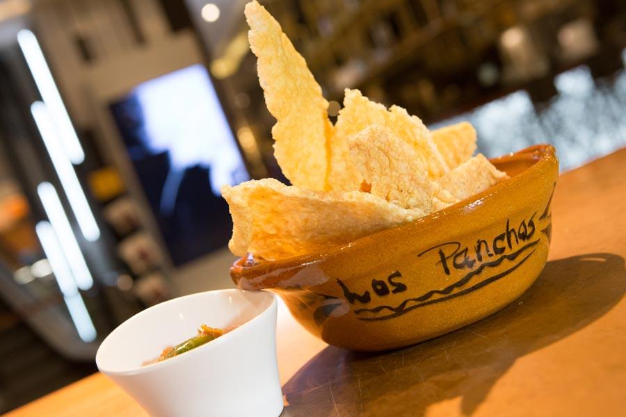 Restaurant Los Panchos México sucursal polanco orden de chicharrón