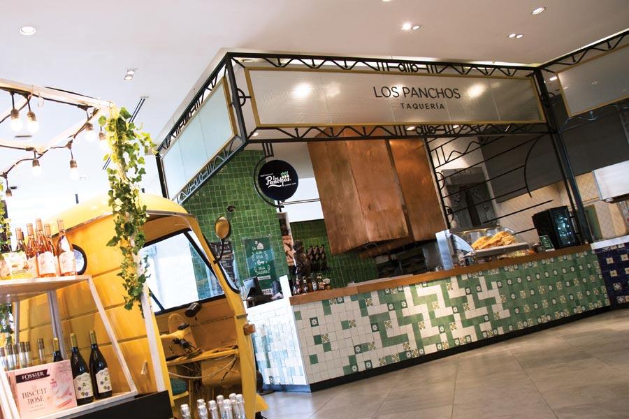 Restaurant Los Panchos México sucursal polanco perspecitva barra