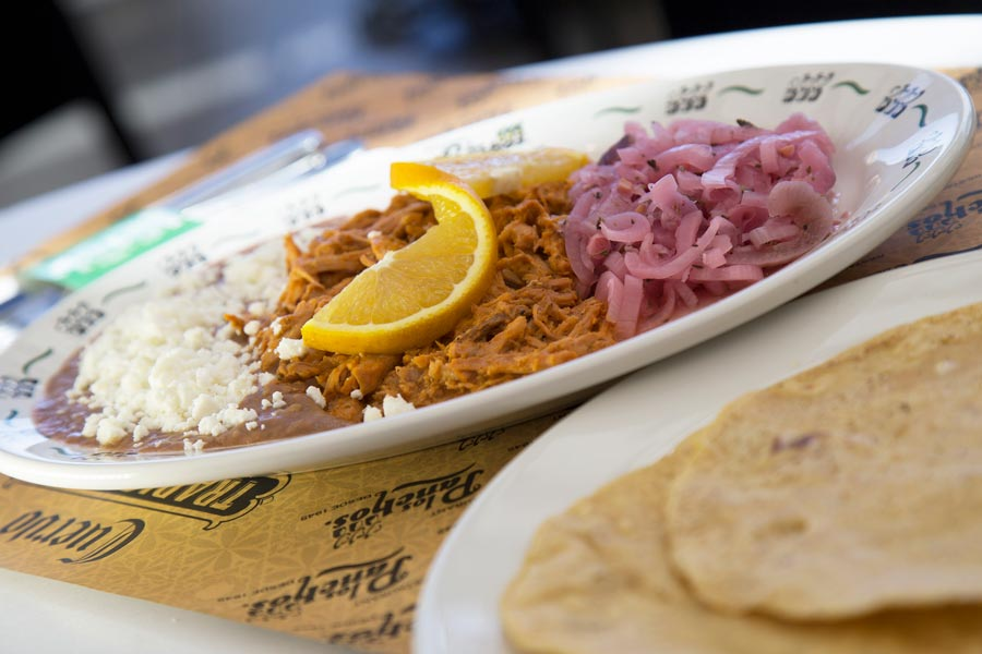 Restaurant Los Panchos México sucursal polanco cochinita pibil