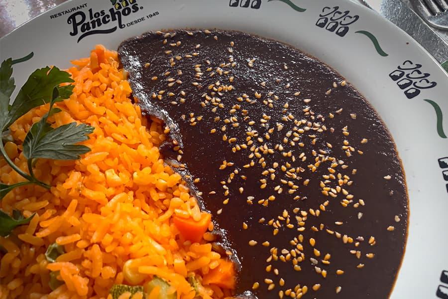 arroz en los panchos exclusivo en menú anzures