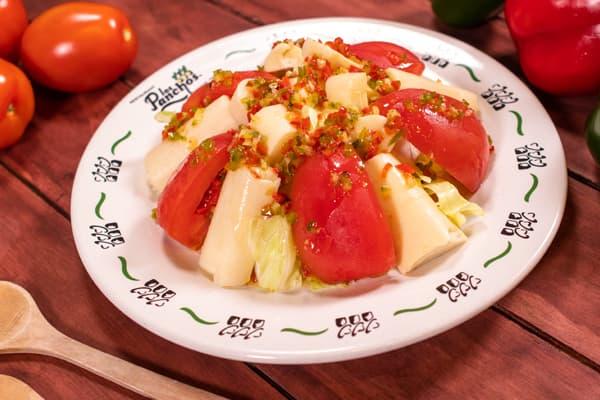 ensalada de palmitos los panchos exclusiva del menú anzures
