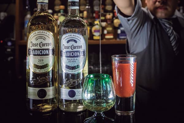 tequila los panchos en menú anzures